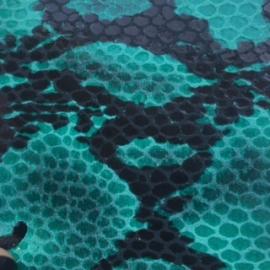 Verde snake print
