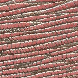 Portocaliu texturat cu auriu
