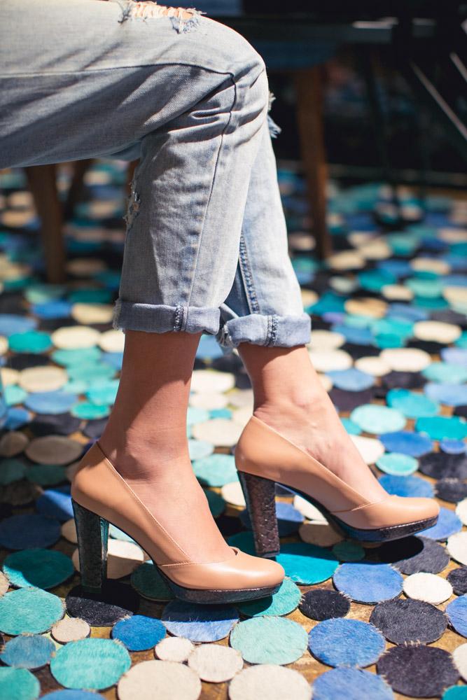 Pantofi cu toc High Hopes
