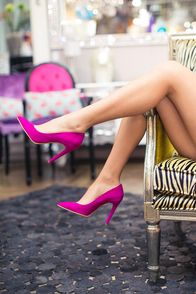 Pantofi stiletto Belle de Nuit