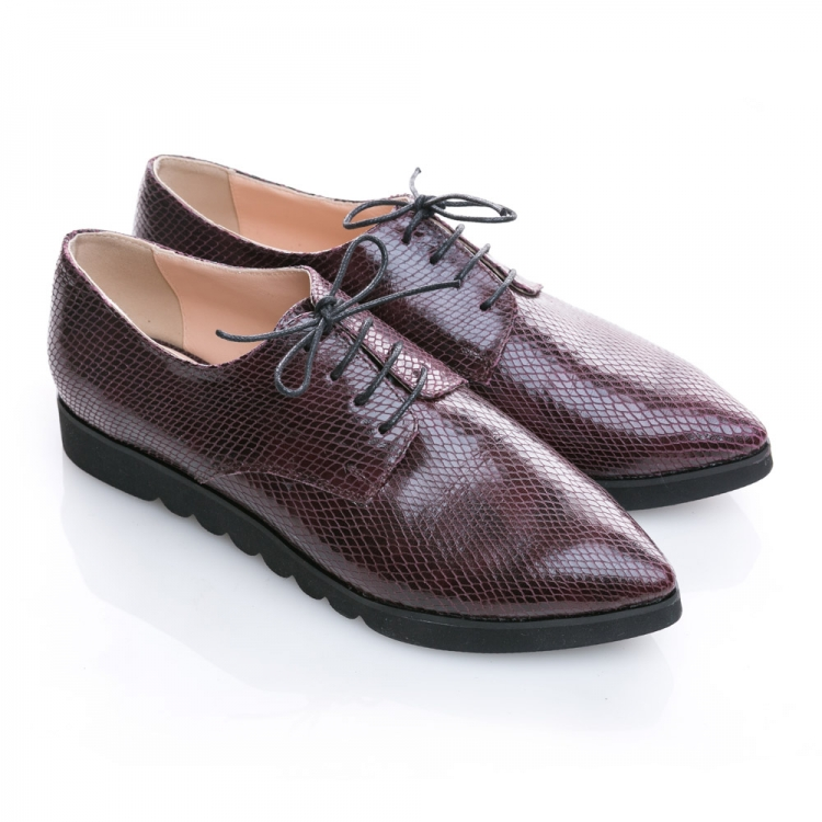 Pantofi derby cu șireturi Luna 3