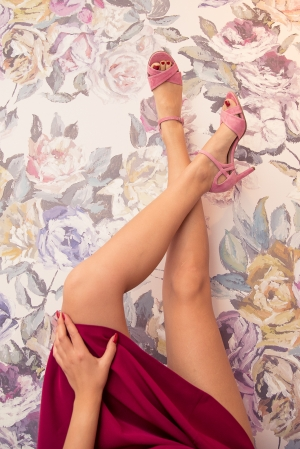 Sandale roz 6