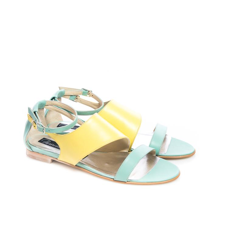 Sandale galbene 2