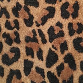 Animal print piele intoarsa