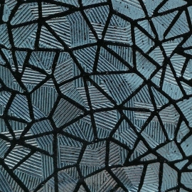 Bleu texturat cu negru