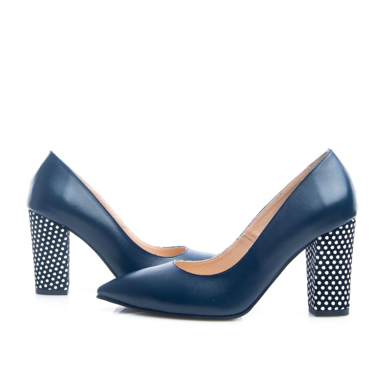 Pantofi cu toc gros 6