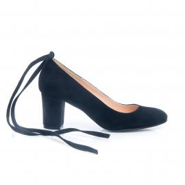 Pantofi negri comozi 4