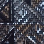 Multicolor inchis texturat ca o impletitura