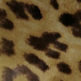 Ponei cu gherute maro animal print