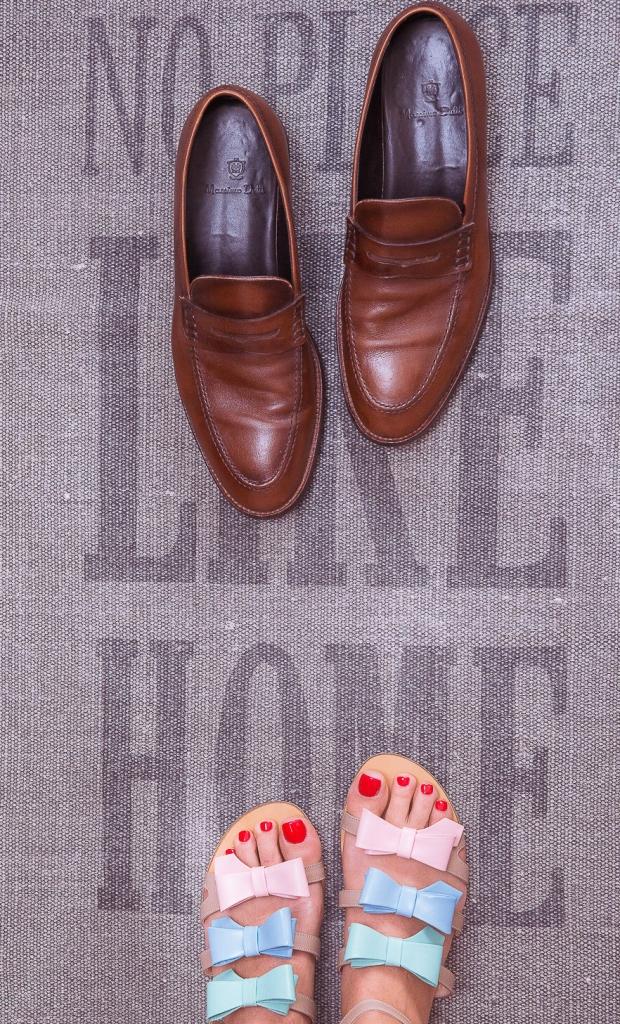 Sandale joase cu fundițe Cravings