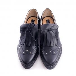 Pantofi derby cu franjuri
