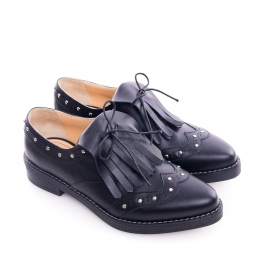 Pantofi derby cu franjuri 2