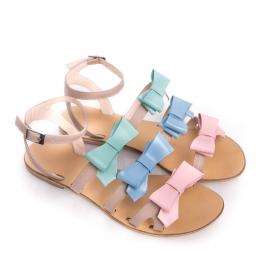 Sandale joase cu fundițe Cravings 2
