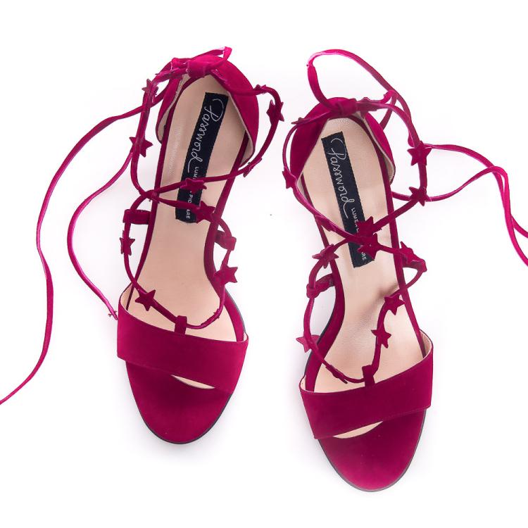 Sandale cu șiret YUM-YUM 6
