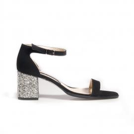 Sandale cu glitter 4
