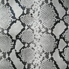 Grej snake print