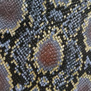 Gri-maro-auriu snake print
