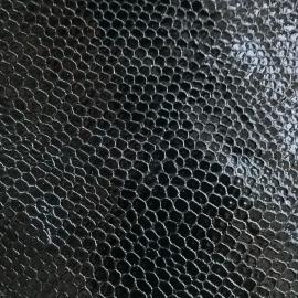Negru snake mic lac 79