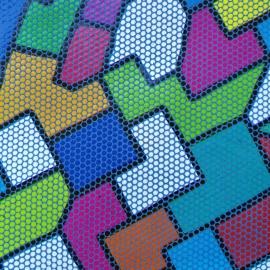 Print geometric multicolor 48