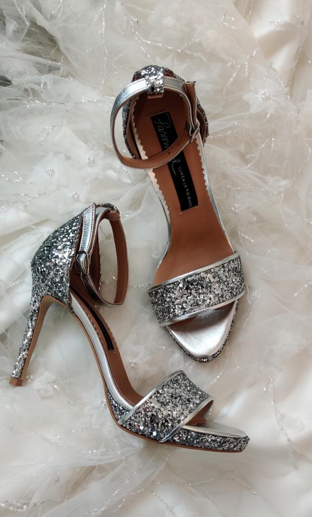 Sandale de mireasa cu platforma