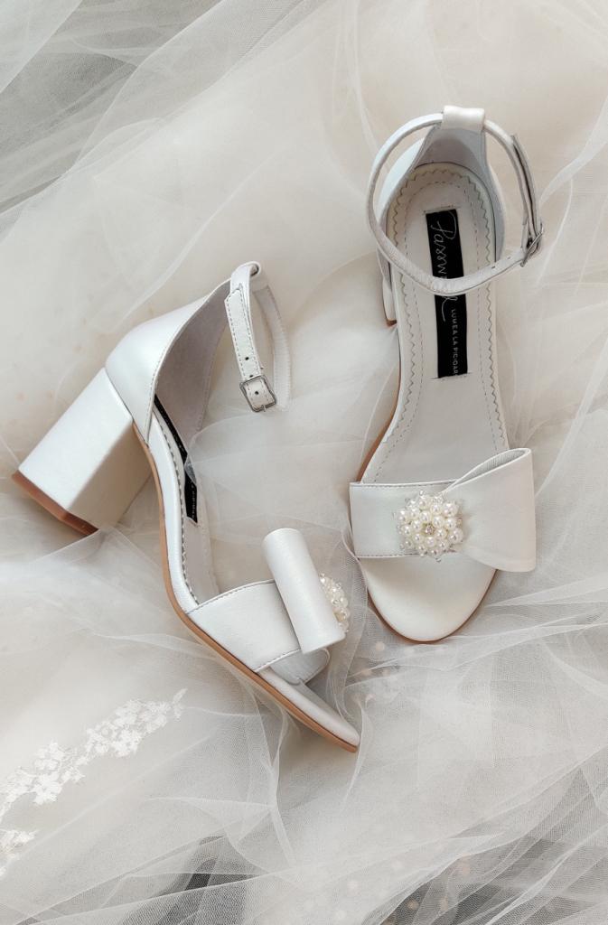 Sandale superbe de mireasa